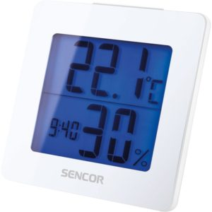 SENCOR Teploměr s hodinami SWS 1500 W