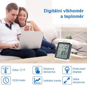 ThermoPro Digitální teploměr s měřením vlhkosti TP - 55
