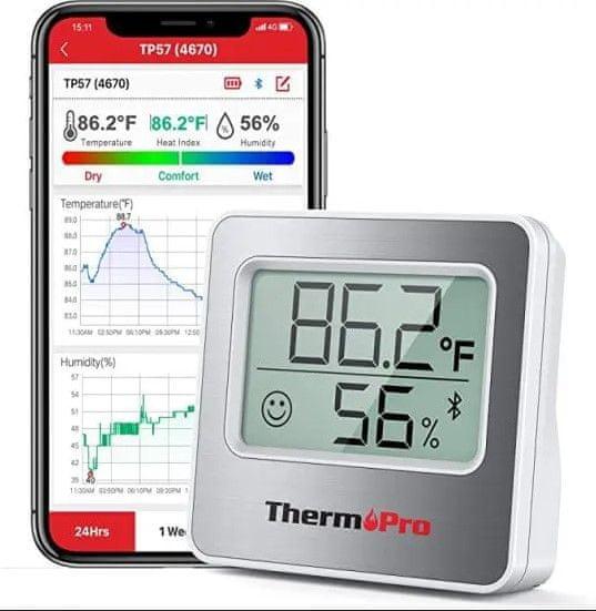 ThermoPro Digitální teploměr TP357