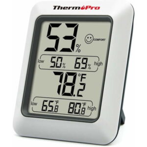 ThermoPro Digitální teploměr s měřením vlhkosti TP-50 - rozbaleno